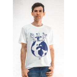 T- Shirt Leos  Welt