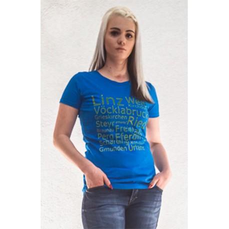 emens Damen Shirt Bezirke OÖ
