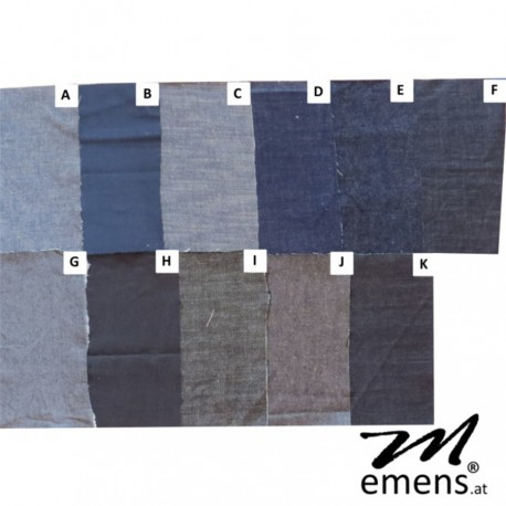 emens JEANS Stoffauswahl