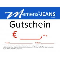 Gutschein emens Jeans €129,-