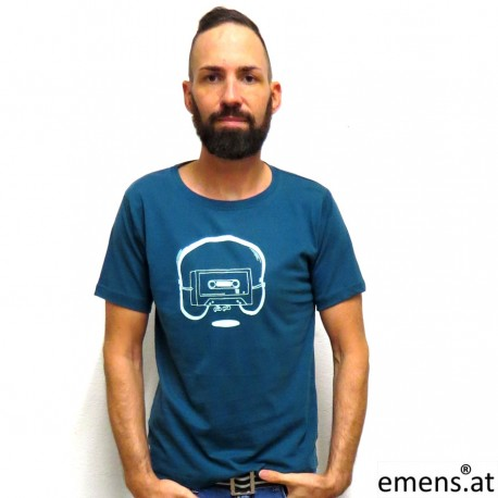 Shirt Uni Kassette Petrol