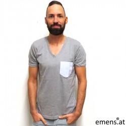 V- Shirt emens HV03 Tasche