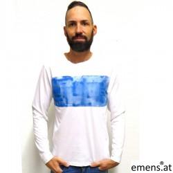 emens Shirt Lange blau emens