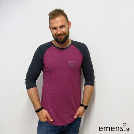 emens Sweater grau plum