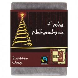 BIOART Schokobaum Frohe Weihnachten 70g