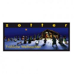 Zotter Fröhliche Weihnachten Schoko 70g