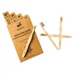 Bambus Kinder  Zahnbürste 1 Stk