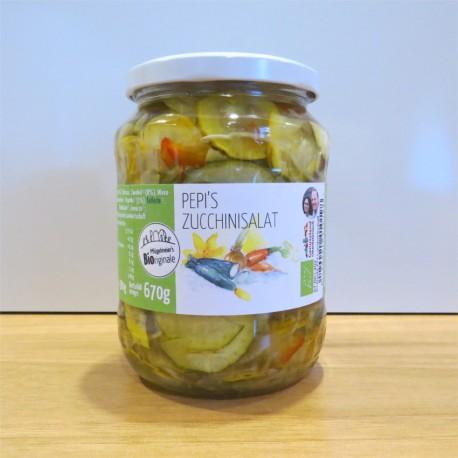 Pepis Zucchinisalat kbA 670g