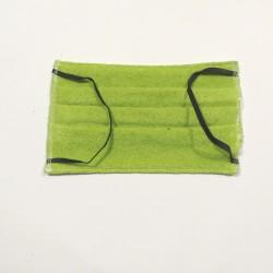 Gesichtsmaske Grün Gummiband