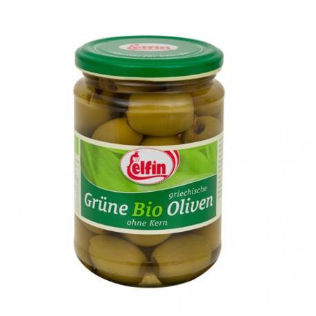 Elfin Grüne BIO Oliven 390ml